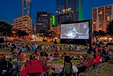 Austin Outdoor Movie Calendar 2015  Free Spring Summer