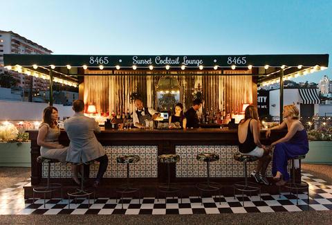 Best Rooftop Bars in Los Angeles Pools Patios  More