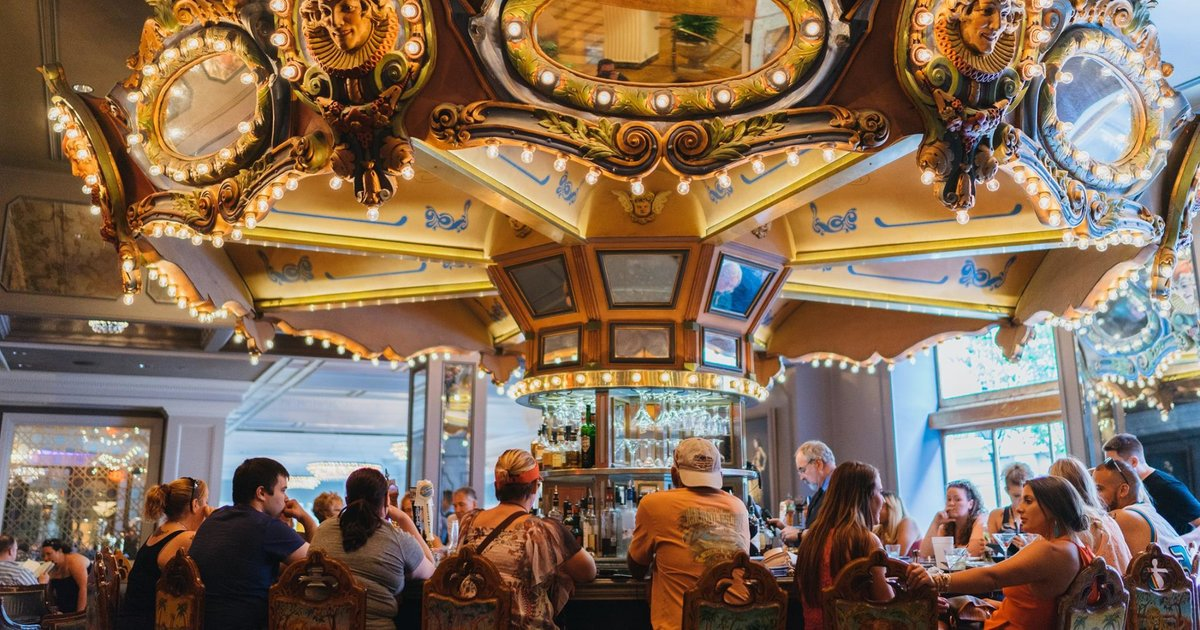 Best Hotel Bars in New Orleans Carousel Bar Bombay Club