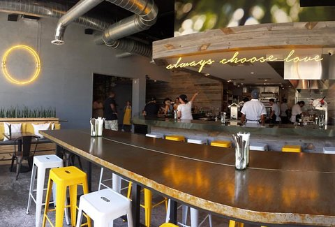 kitchen miami quartz countertops paradigm a fl restaurant