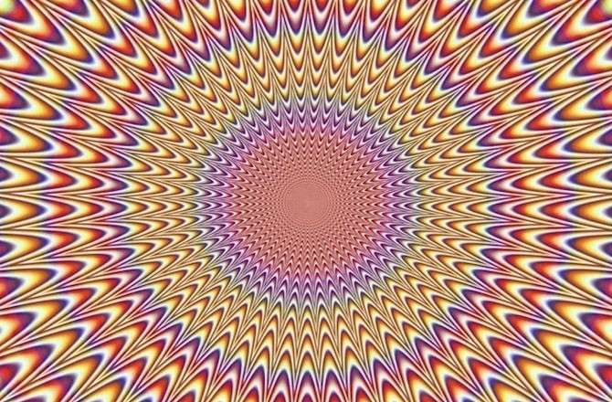 optical illusions your brain