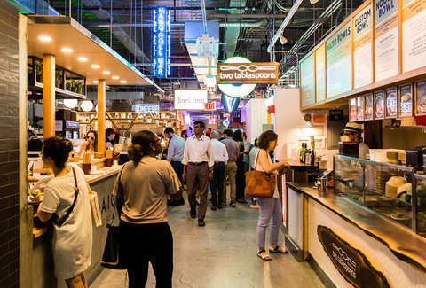 eat in kitchen sets discount replacement cabinet doors best food halls nyc: courts and markets worth ...