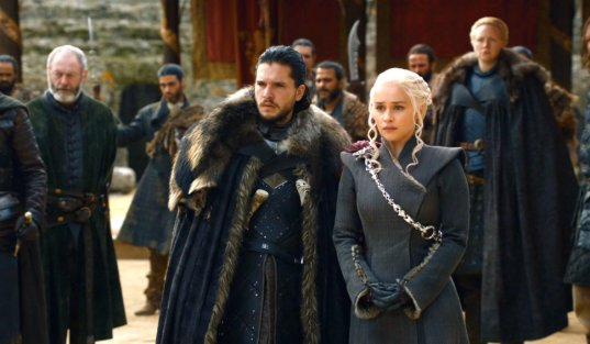 Image result for game of thrones season 7 jon and dany