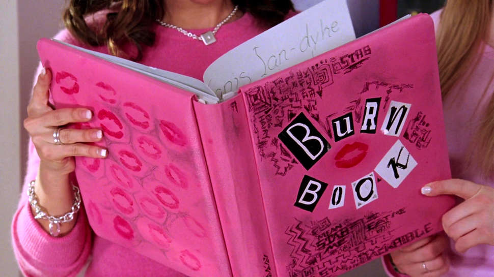 Girl Back Side Wallpaper Mean Girls Burn Book Why Mark Waters Had To Cut The