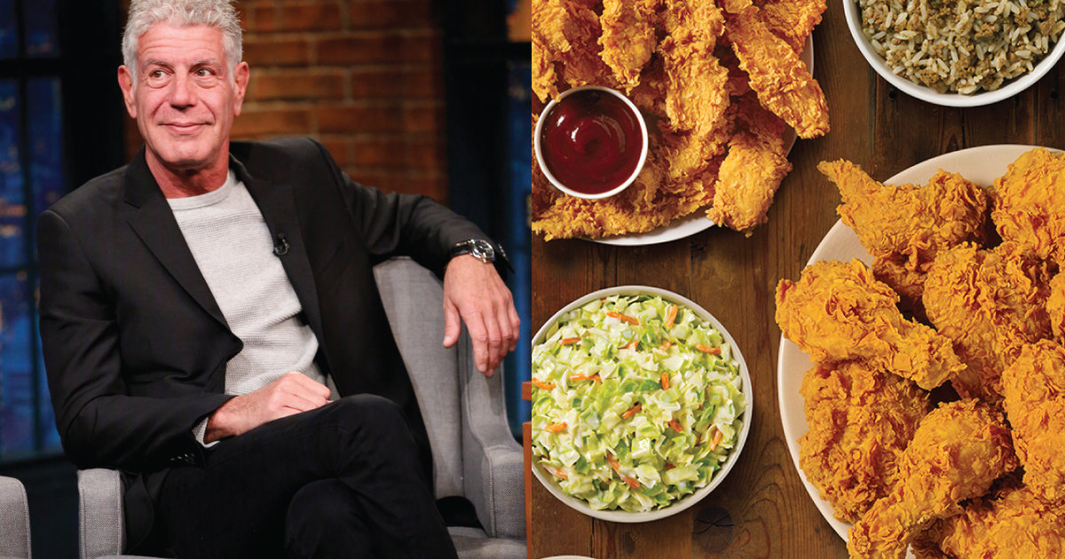 Anthony Bourdain Explains His Love for Popeyes Fried