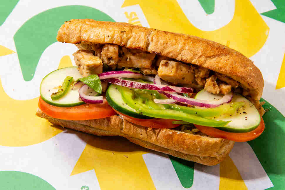 best subway sandwiches top