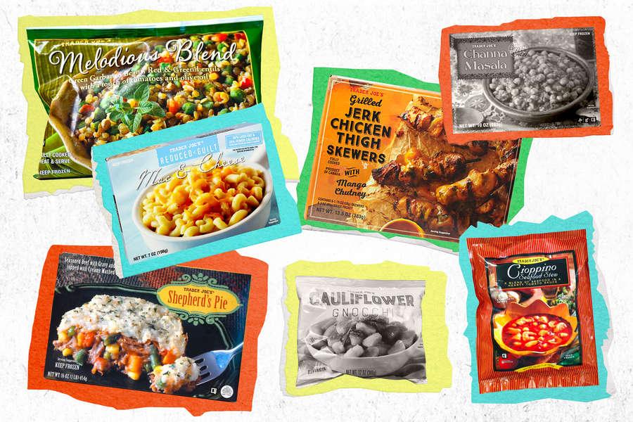 trader joe s healthiest frozen food
