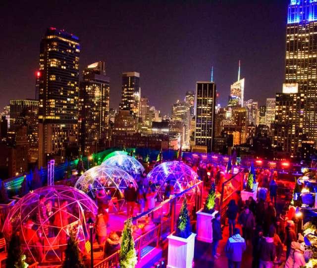Fifth Igloo Rooftop Bar
