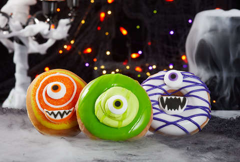 krispy kreme halloween donuts mumford scary sweet donut