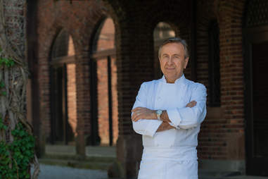 Chef Daniel Boulud of Cafe Boulud at Blantyre