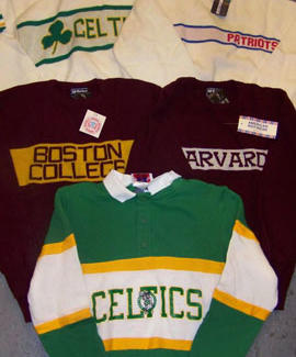 authentic 80s coaching sweaters