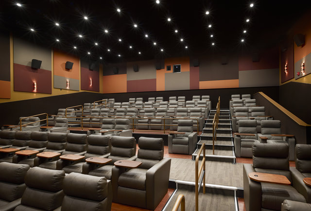 movie theaters with lounge chairs rocking for baby room that serve alcohol in boston