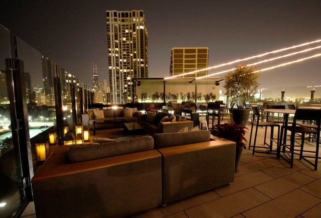 The J Parker  The Hotel Lincolns 13thfloor Rooftop