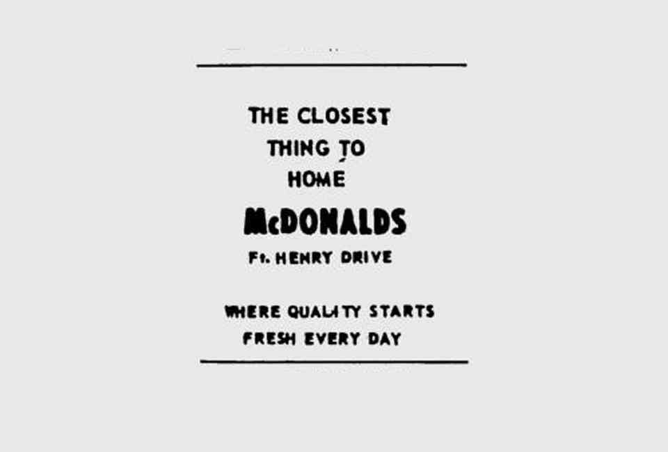 mcdonald s advertising slogans