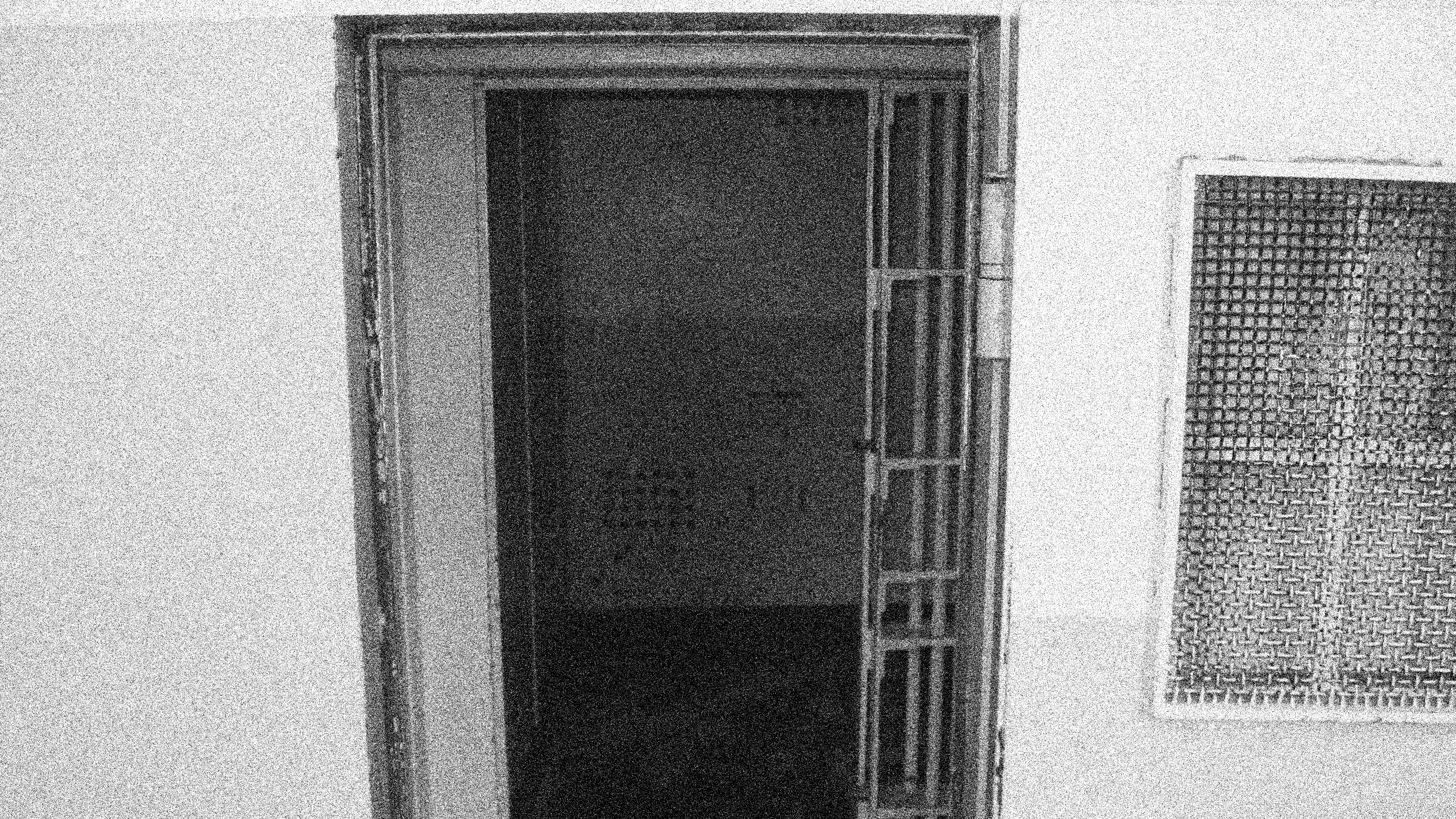 Solitary jail cell