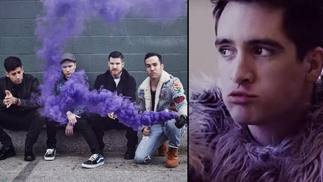 Fall Out Boy Mania Wallpaper Wait Is Brendon Urie On The New Fall Out Boy Album