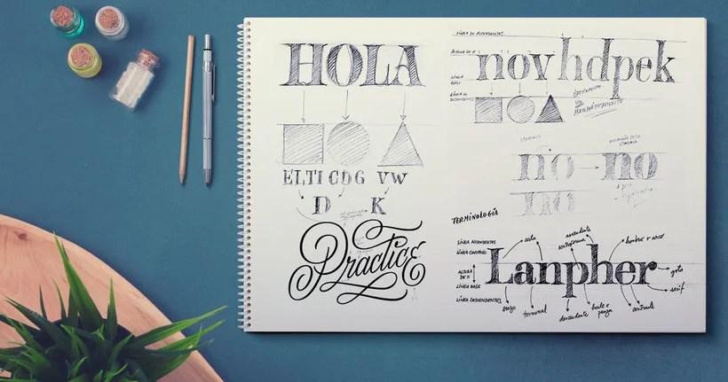 Lettering, caligrafia y tipografía, ¿conoces las diferencias? 5