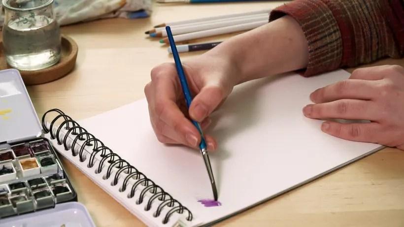 Consejos prcticos para pintar con acuarela lpices y