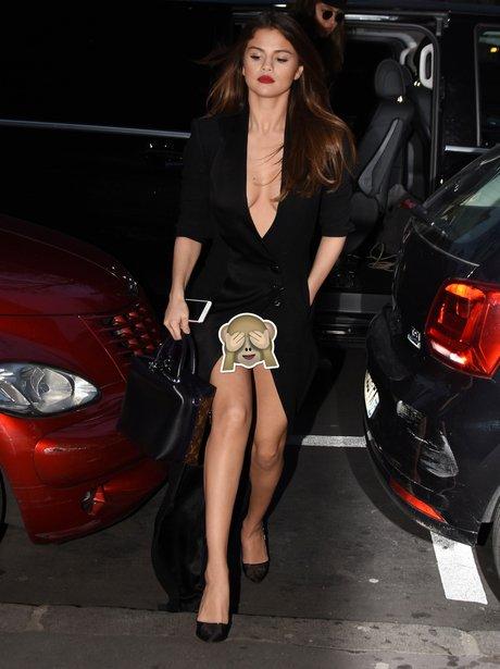 Selena Gomez's wardrobe malfunction