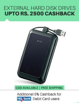external hard drives 2500 cashback paytm electronics sale