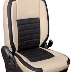 Chair Pad Covers Online India Gray Wicker Buy Hi Art Leatherite Car Seat For Hyundai Elite