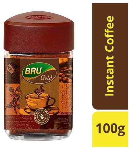 Bru Instant Coffee - Gold 100 gm