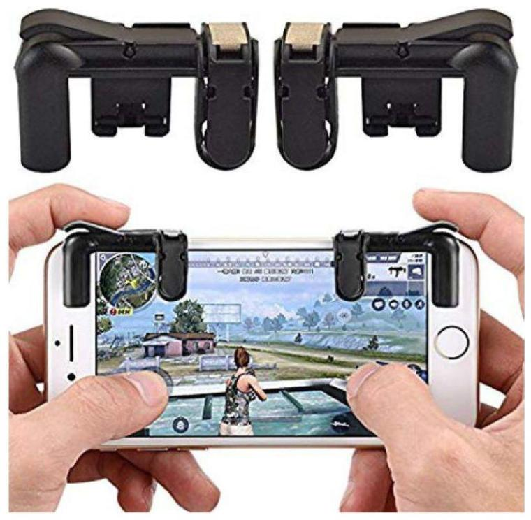 PUBG Mobile Controller/Pubg Trigger for Mobile/Trigger for Mobile Pubg Mobile Controller Trigger / l1r1 for Mobile pubg/Joystick/Gamepad/Fire Buttons for Android iOS Phones