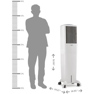 Symphony Diet 50i 50 L Tower Air Cooler With Remote (White)