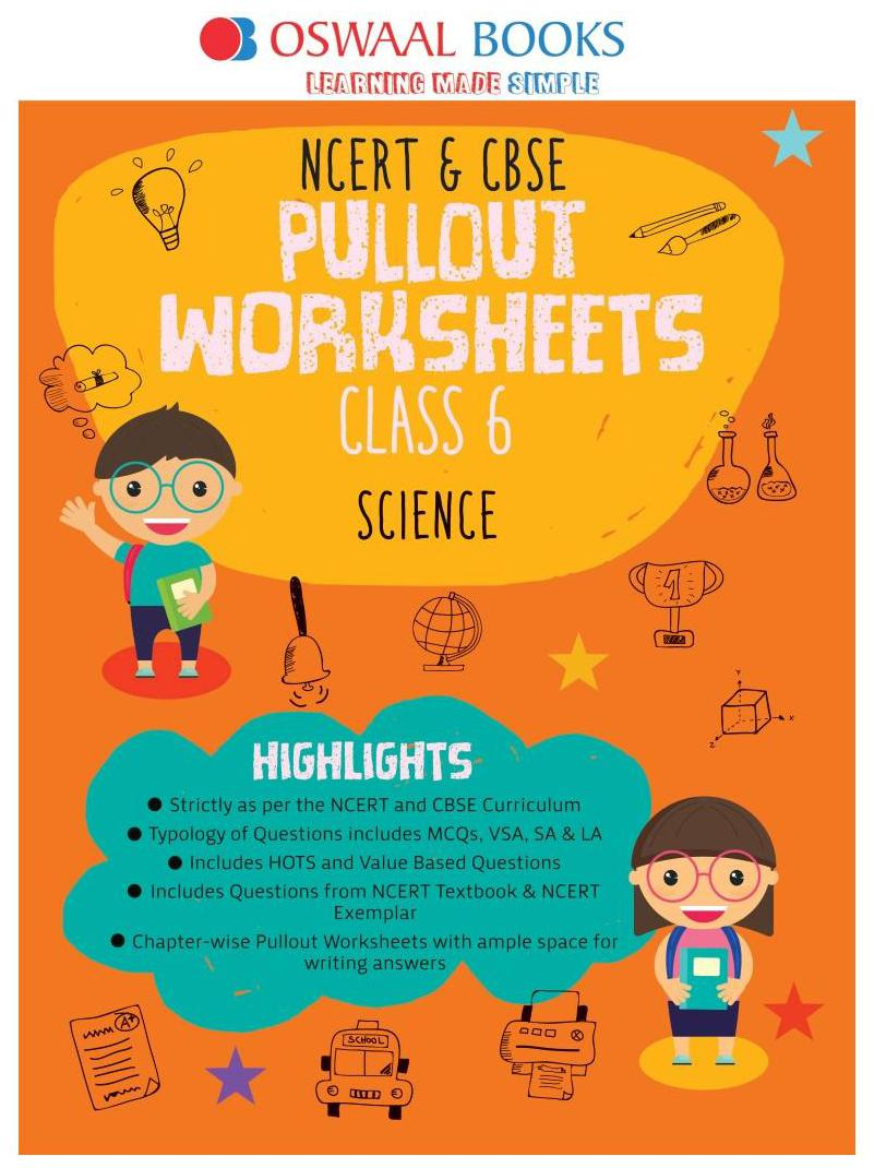 medium resolution of Buy Oswaal NCERT \u0026 CBSE Pullout Worksheets Class 6 Science Book (For March  2020 Exam) Book Book  Paytm Mall
