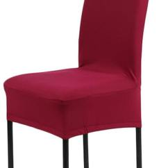 Dining Chair Covers In India Swivel Plush Buy A1 Piece Colors Solid Polyester Spandex For Weddings