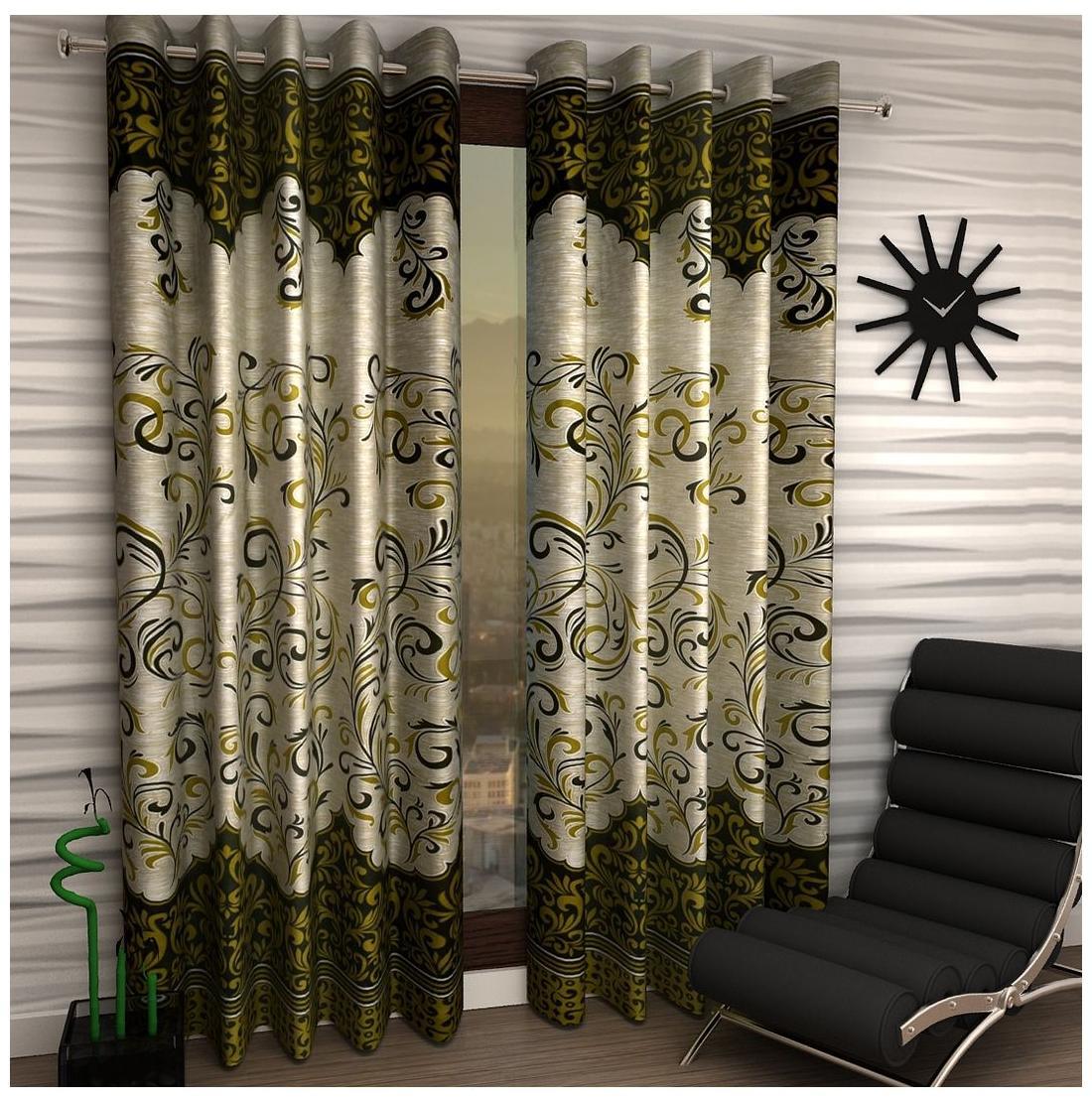 living room curtains for sale half wall tiles design buy door window kitchen online at home sizzler set of 2