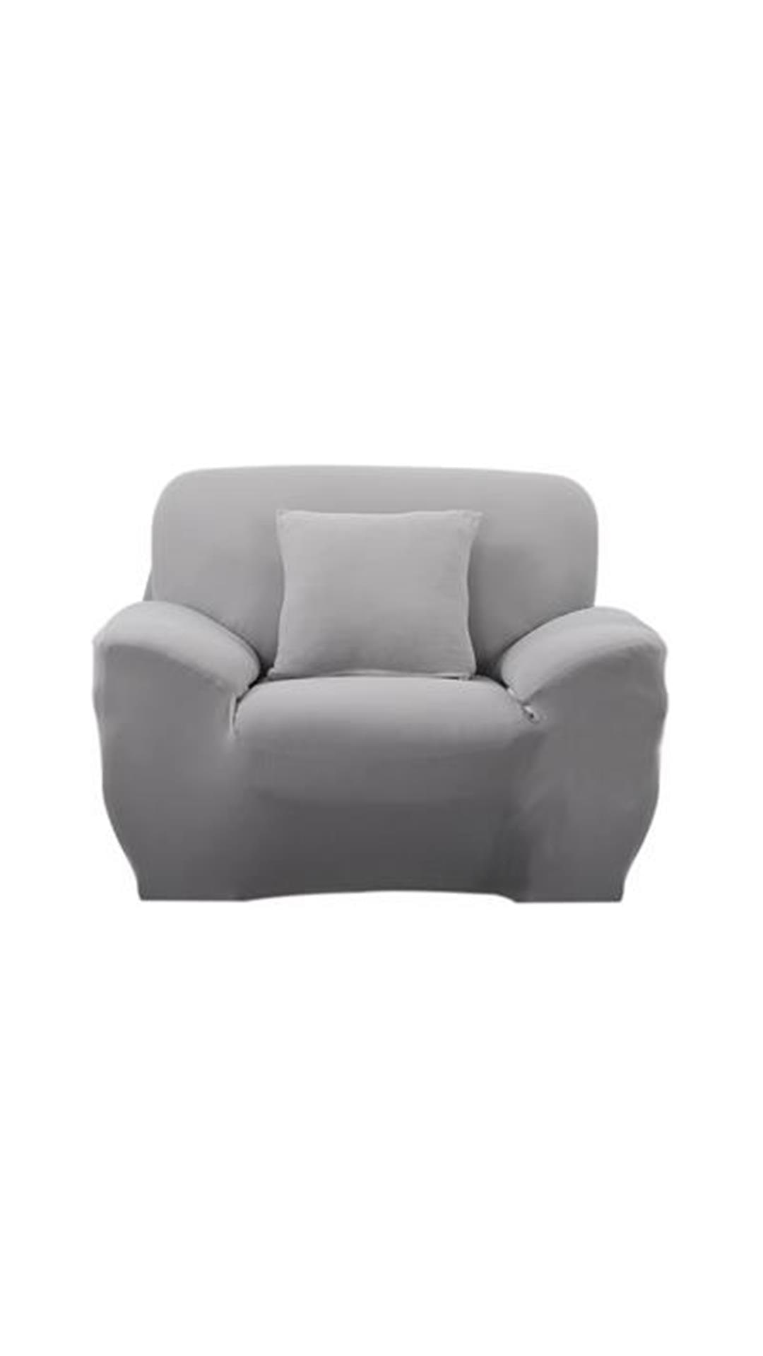 single couch chair cover chairs for seniors buy magideal spandex stretch sofa seat slipcover case home decor grey