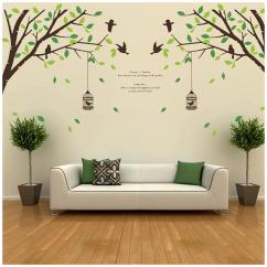 Wall Stickers Living Room Beach House Rooms Art Decor Buy Posters And Paintings Online At Walltola Printed Sticker Pack Of 2
