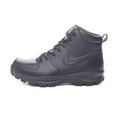NIKE - Ανδρικά παπούτσια NIKE MANOA LEATHER μαύρα