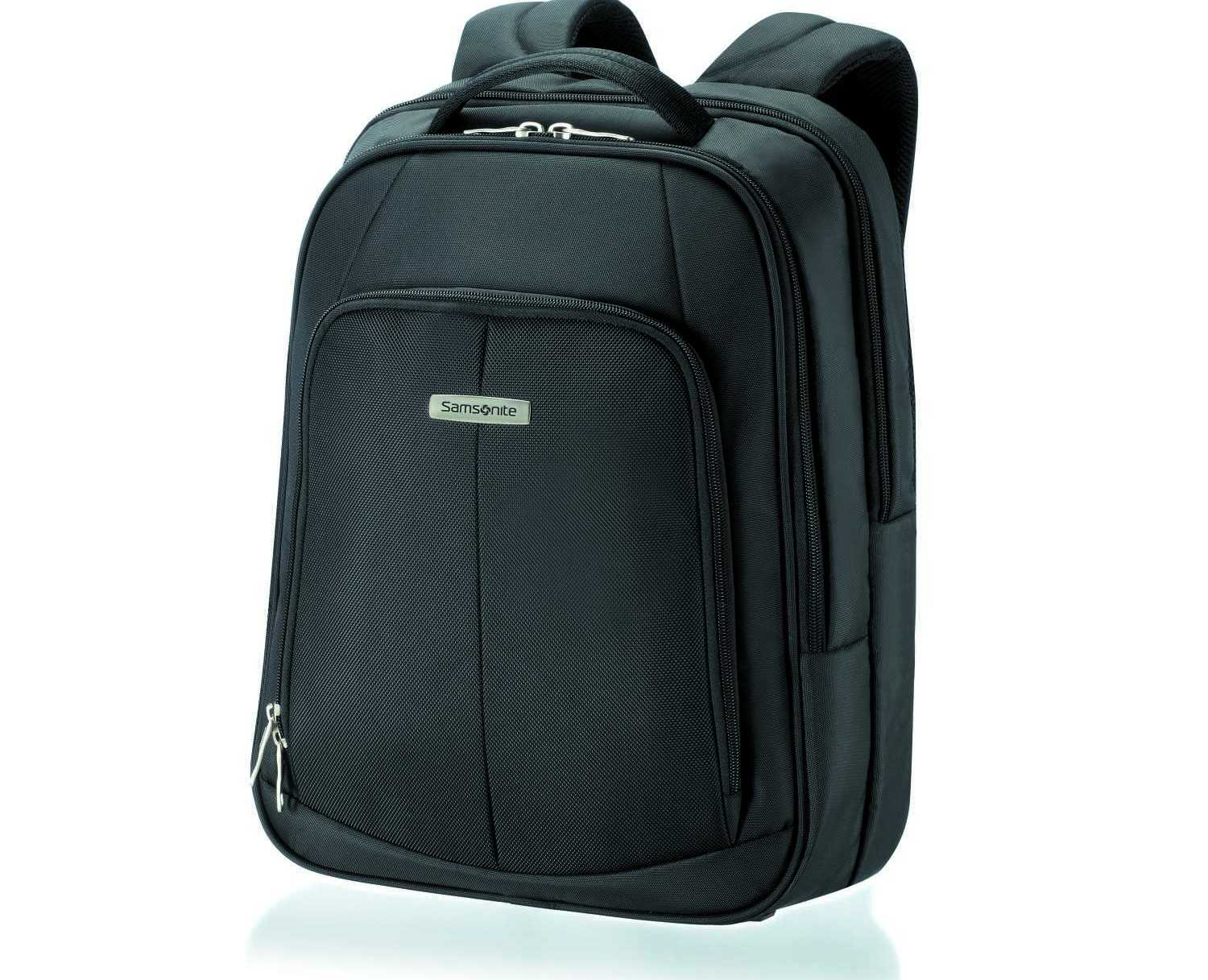 SAMSONITE - Unisex τσάντα πλάτης INTELLIO LAPTOP BACKPACK 16 μαύρη
