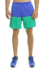 NIKE - Ανδρικό αθλητικό σορτς Nike 7 DISTANCE SHORT (SP15) μπλε - πράσινο