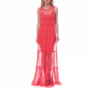 Guess GUESS - Γυναικείο φόρεμα Guess κοραλί 2018