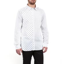HAMAKI HO - Ανδρικό πουκάμισο HAMAKI HO λευκό