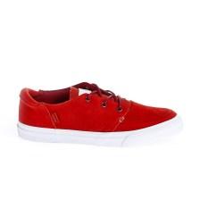 CONVERSE - Unisex παπούτσια Deck Star Ox κόκκινα
