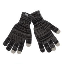 CONVERSE - Unisex γάντια Converse γκρι-μαύρα
