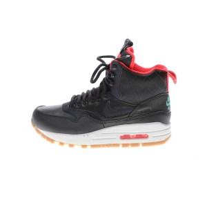 NIKE - Γυναικεία αθλητικά μποτάκια NIKE AIR MAX 1 MID SNKRBT RFLC μαύρα κόκκινα