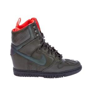 NIKE - Γυναικεία παπούτσια NIKE DUNK SKY HI 2 SNKRBT RFLCT χακί