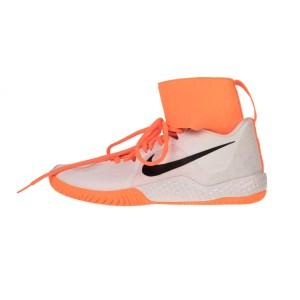 NIKE - Γυνιακεία παπούτσια NIKE FLARE λευκά πορτοκαλί