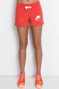 NIKE - Γυναικείο σορτς Nike Sportswear Gym Vintage πορτοκαλί