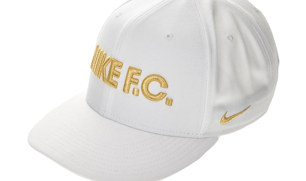 NIKE - Unisex καπέλο NIKE FC TRUE CAP CLASSIC λευκό