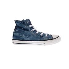 CONVERSE - Παιδικά παπούτσια Chuck Taylor All Star Hi μπλε-γκρι