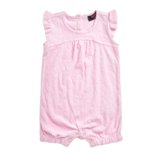 JUICY COUTURE KIDS - Φορμάκι JUICY COUTURE LINKING HEARTS ροζ