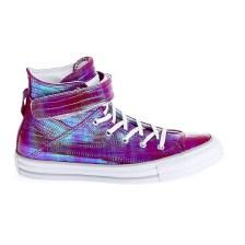 CONVERSE - Γυναικεία παπούτσια CT ASBREA REPTILE IRIDESCENT μωβ