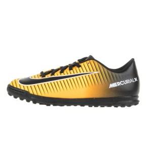 Παιδικα Αθλητικα Παπουτσια 2019 Χρωμα  Πορτοκαλι απο το Factory Outlet. NIKE  - Αγορίστικα παπούτσια ποδοσφαίρου JR MERCURIALX VORTEX III TF πορτοκαλί- μαύρα c875cfb4499