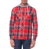 ELEMENT - Ανδρικό πουκάμισο Element κόκκινο-μπλε image